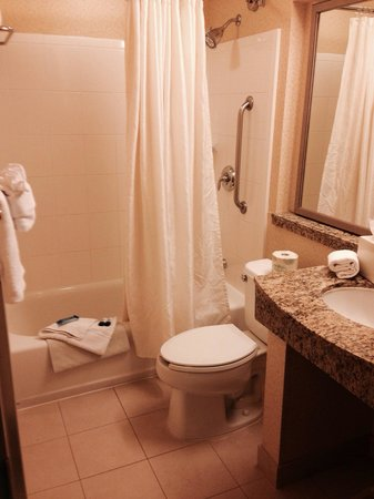 Fairfield Inn Sacramento Cal Expo: Bathroom 301