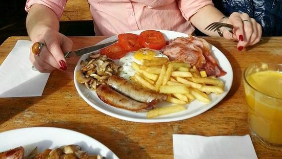 Il Blandford`s : best english breakfast