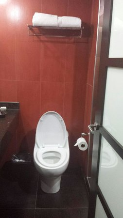 Riande Aeropuerto: bathroom