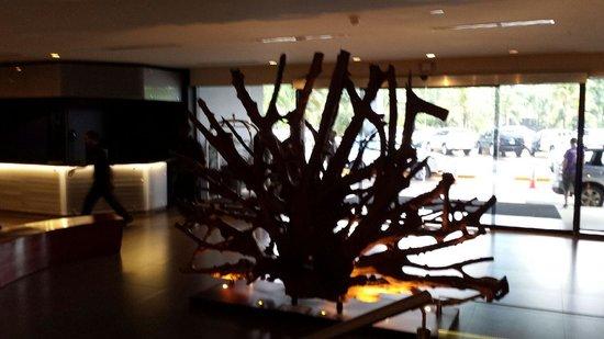 Riande Aeropuerto: hotel lobby