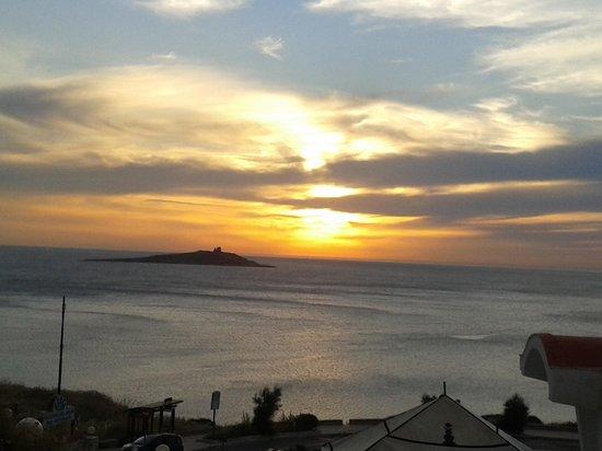 Bellevue del Golfo: tramonto