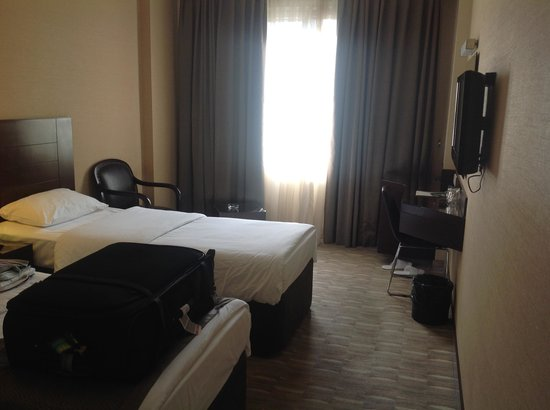 Riva Hotel: das Zimmer