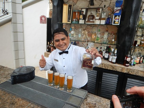 The Royal Playa del Carmen: # 1 Bartender