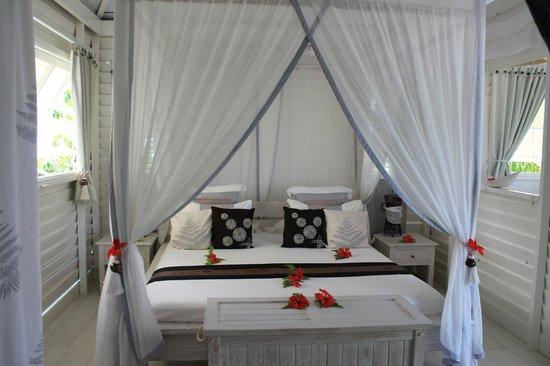 Opoa Beach Hotel : la chambre