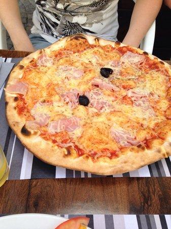 l'Abri : Pizza jambon