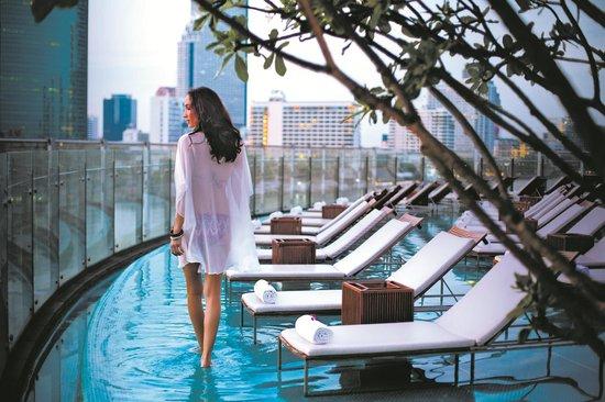 Millennium Hilton Bangkok: Infinity Pool