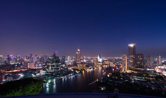 Millennium Hilton Bangkok: View from Rooftop