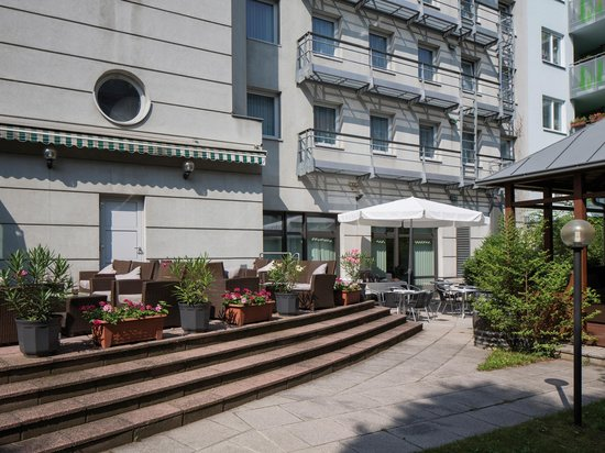 Austria Trend Hotel Lassalle Wien: Terrace