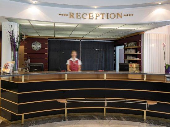 Austria Trend Hotel Lassalle Wien: Reception