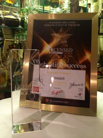 Oysters: Northern Ireland Restaurant of the Year 2014