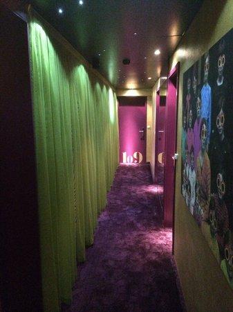 Chambard : Couloir de l'hôtel