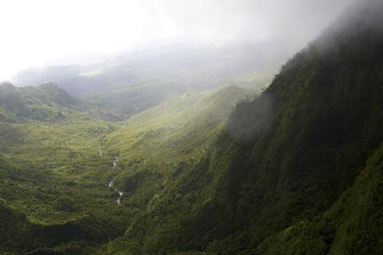 Mauna Loa Helicopters Tours : wettest spot on kauai