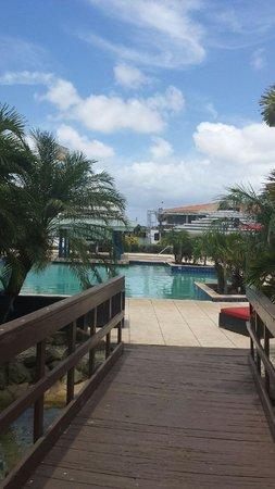 Brickell Bay Beach Club & Spa : enter pool