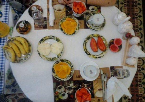 Casa Amanecer: Los desayunos