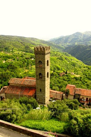 Casa Verde Holiday Accommodation & B&B: Tower of Vellano