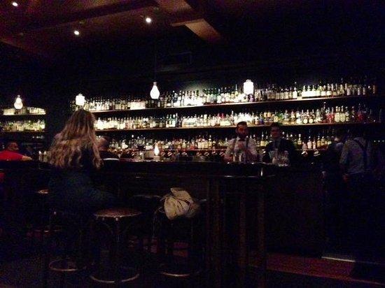 Eau De Vie : View of the bar