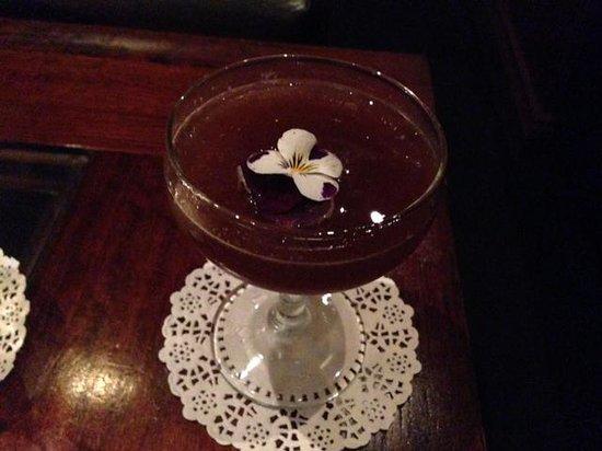 Eau De Vie : Gorgeous cocktail