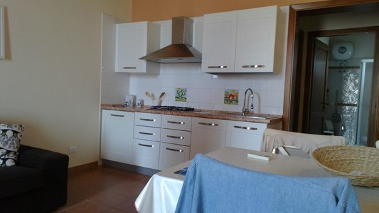 Palazzo Ossuna Residence: Parete cucina