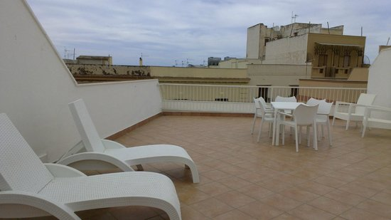 Palazzo Ossuna Residence: Il terrazzo