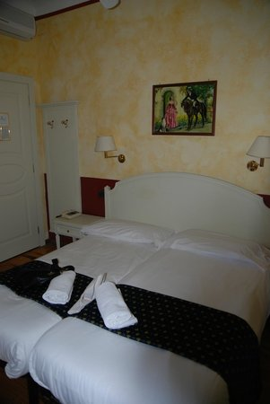 Grand Hotel Britannia Excelsior: Cheapest room - quite acceptable