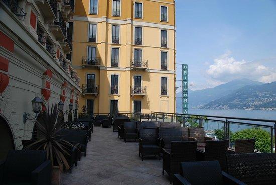 Grand Hotel Britannia Excelsior: Terrace