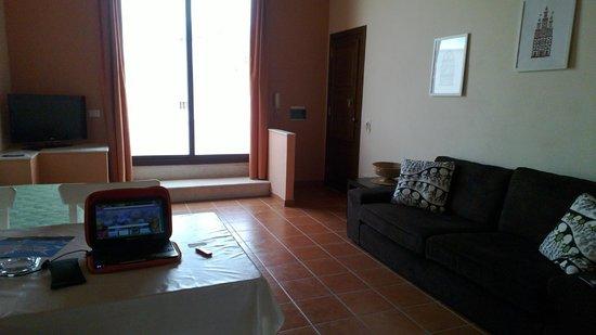 Palazzo Ossuna Residence: Il soggiorno