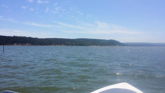 Poole Boat Hire: Heading over to Brownsea