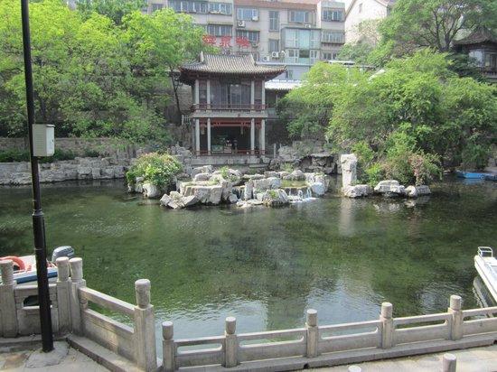 Ji'nan Huancheng Park: Canal Jinan