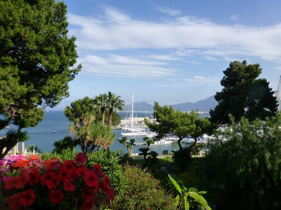 Grand Hotel Villa Igiea - MGallery by Sofitel: View from the terrace outside the room