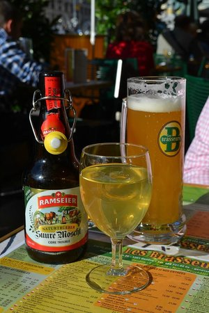 Les Brasseurs: пиво и сидр