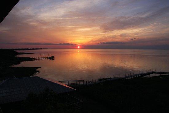 The Inn on Pamlico Sound: Sonnenuntergang über dem Pamlico Sound