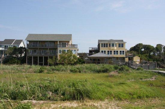 The Inn on Pamlico Sound: Blick auf das Inn vom Bootssteg