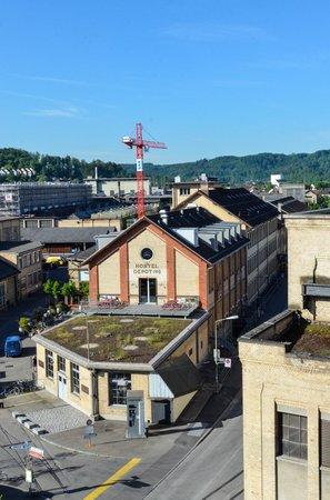 Depot 195 - Hostel Winterthur: Building