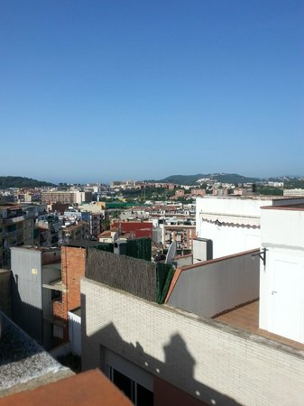 Hotel Ridomar: View from roof top pool area