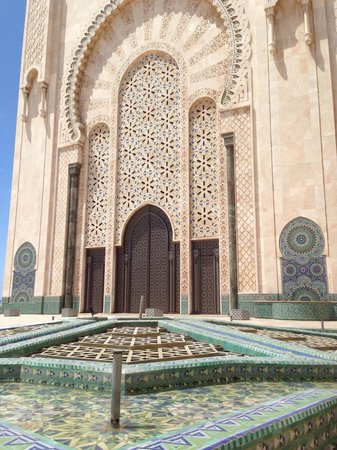 Mosquée Hassan II : La più importante Moschea di Casablanca.