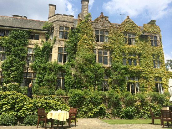 Pennyhill Park, an Exclusive Hotel & Spa: I recommend tea on the lawn outside here, it is lovely!
