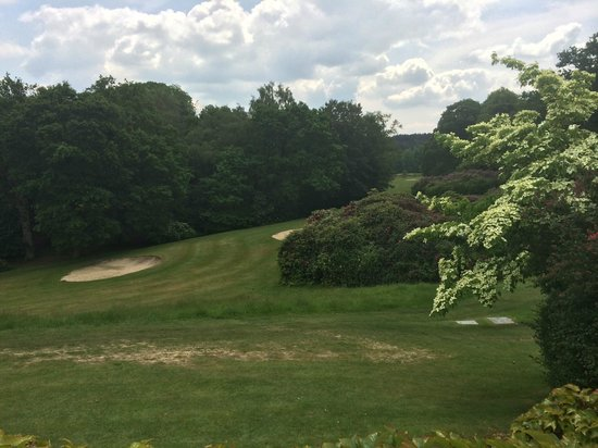 Pennyhill Park, an Exclusive Hotel & Spa: Walking around the golf course in the evening