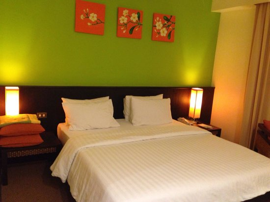 Chon Inter Hotel : Deluxe room ambience