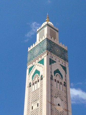 Mosquée Hassan II : Hassan II Mosque  -  La più importante Moschea di Casablanca.