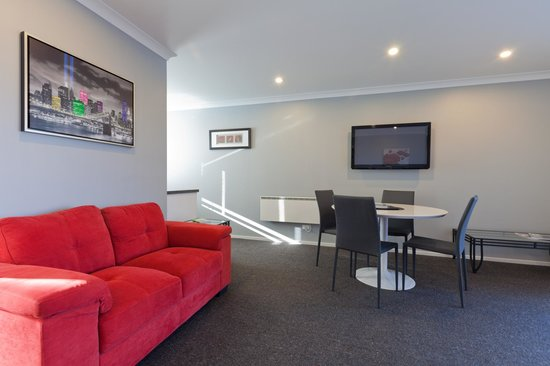 Tokoroa, Neuseeland: Two Bedroom Unit Dining