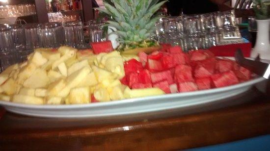 La Villa im Bamberger Haus: Obst-Büffet