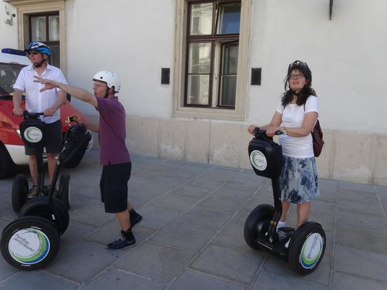Pedal Power Bike and Segway: ... ein toller Event!