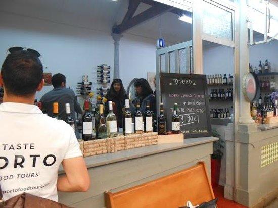 Taste Porto: bolhao market porto