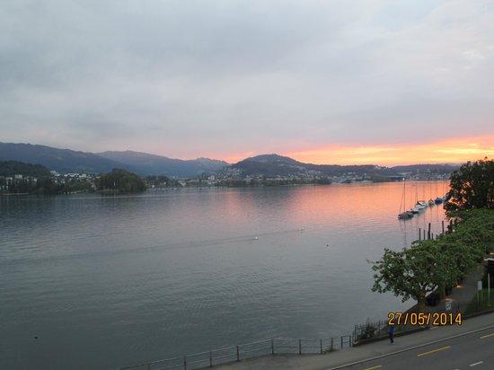 Hotel Seeburg: Lake Luzern