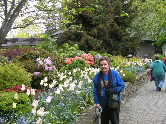 The Butchart Gardens: I'm in heaven
