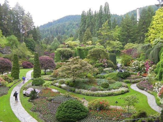 The Butchart Gardens: amazing
