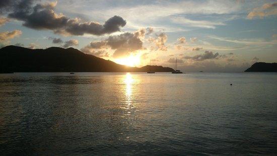 Domaine de La Reserve : tramonto