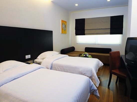 Hotel Sentral Riverview Melaka : Deluxe Twin
