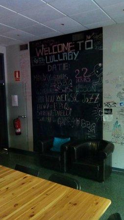 Lullaby Rambla Catalunya: Comedor