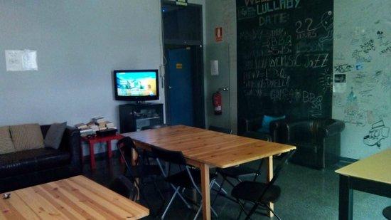Lullaby Rambla Catalunya: Salon Comedor. Detalle
